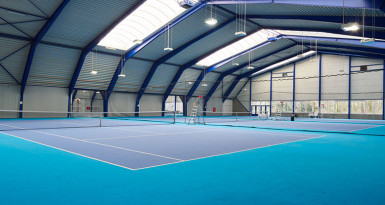 David Lloyd Capelle indoor banen
