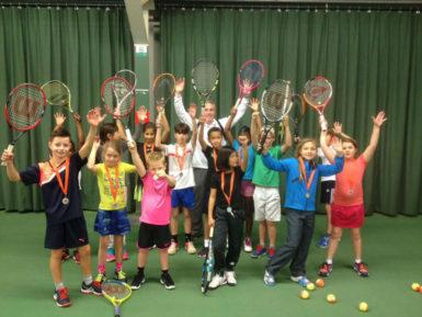 Rood Oranje Groen event tenniskids